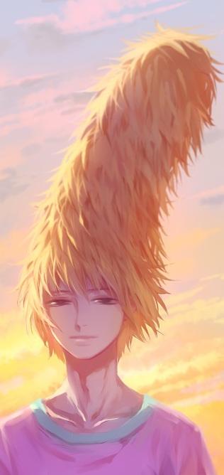 Teru's fab hair